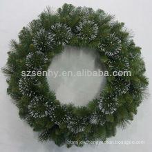 Unique Glittered Bristle Pine Christmas Stephanie