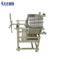 Chemical industry SS316L stainless steel disc filter housing