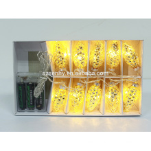 открытый светодиодные рождественские подсветкой строки декоративные шары