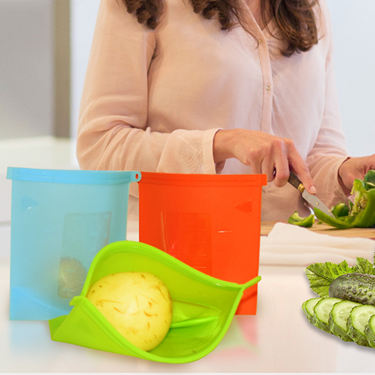 Silicone Vegetables Storage Bag