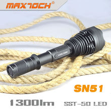 Maxtoch SN51 Cree Led Flash s'allume