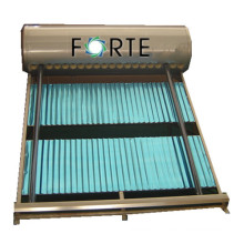 Pressurized Solar Collector with 20 Tubes