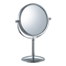 Double-sided vanity table mirror