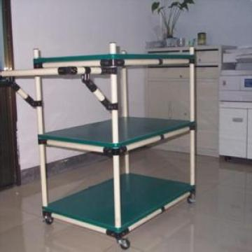 Reusable Handcart for Warehouse Storage Lean Pipe