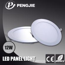 Luz de panel redonda redonda de 12W LED con el CE RoHS (PJ4028)