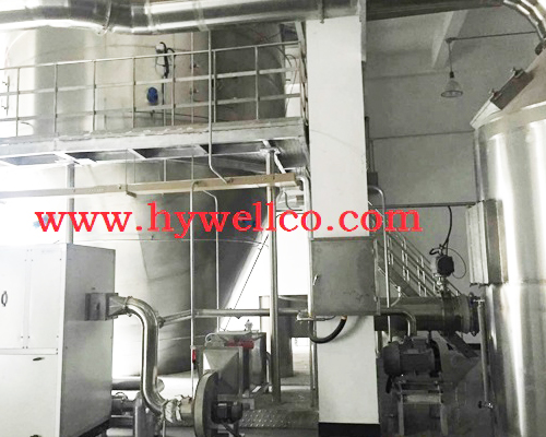 Spray Dryer for Milk
