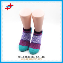 2015 new design Multi-Colored ankle cotton socks argyle