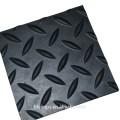 Hoja de goma antideslizante Willow / diamante para alfombras de piso
