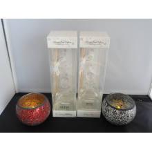 3.6oz Aroma Glass Reed Diffuser garrafa de vidro