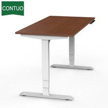 Nuevo diseño Metal Dual Motorized Table Frame Electric