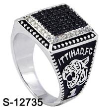 Art und Weise Mikroeinstellungs-Ring-Silber-Schmucksachen (S-12735, S-12183, S-12185, S-13023)