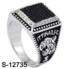 Fashion Micro Setting Ring Silver Jewelry (S-12735, S-12183, S-12185, S-13023)
