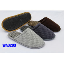 Men's Fashion Mesh Knitted Binding Indoor Slippers