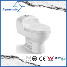 Siphonic One Piece Dual Flush Ceramic Toilet (ACT5825)