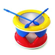Высокое Качество Пластиковый Барабан Детские Игрушки