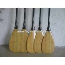 high quality bamboo carbon SUP board paddles
