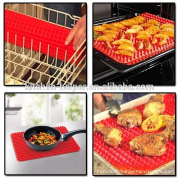 Highly welcomed flexible silicone pyramid baking mat