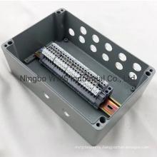 Molded Outdoor Weatherproof IP67 Aluminum Junction Box