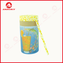 Food Grade Straw Packaging Custom Paper Tube