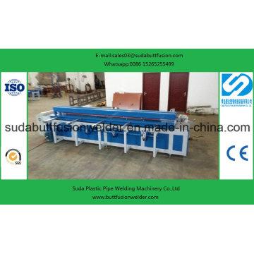Máquina de solda de fusão de topo HDPE para folhas de plástico de 1500 mm