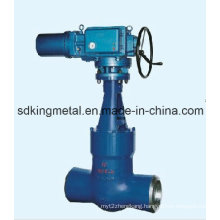 1500lbs Pressure Sealing Forged Steel Gate Valve