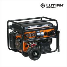 Venda quente 100% fio de cobre 3.2/4.0/5.0/6.0kw energia portátil Industrial gasolina gerador gerador conjunto