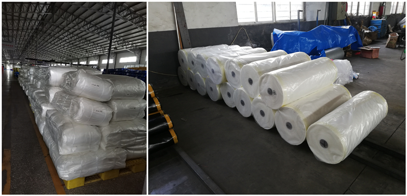 woven greenhouse film packing