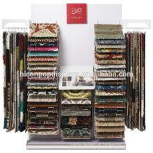 Kommerzielle Hanging Teppich Display Metall Rack Großhandel Einzelhandel Store Fixures Teppich Display Rack zum Verkauf