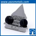 kundenspezifische Metallförderung dekorative Metallabzeichenweihnachtsverzierungen