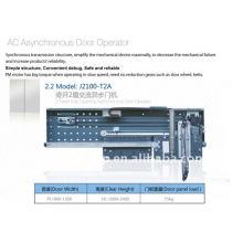 Лифт AC асинхронный оператор двери, две панели, боковое отверстие