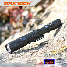 Maxtoch SP5Q-5 AA Waterproof Cree Q5 Police Flashlight With Clip