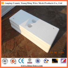 Hochwertige PVC Zaunbasis
