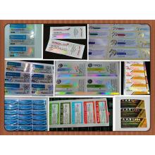 Бесплатный дизайн постоянный клей 10 мл фармацевтической флакон этикетки
