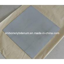 Plaques et draps carrés de tungstène nettoyés chimiquement