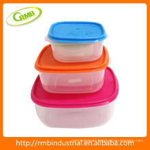 colorful Plastic Kitchenware food storage set