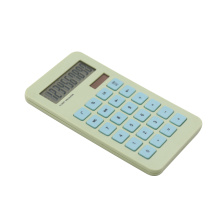 10 digits solar power calculator with clear display