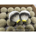 Density Silvertip Badger Hair Knot per pennello da barba bagnato