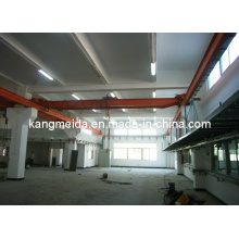 20t High Efficient Single Girder Overhead Crane with Hook
