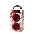 Promotional Custom Branded Portable Bluetooth Wood Speaker