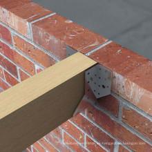 Conector de madera de acero galvanizado Z275 / madera de madera / conectores de madera