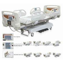 DW-BD002 Cama multifunción eléctrica con cama de hospital scale11