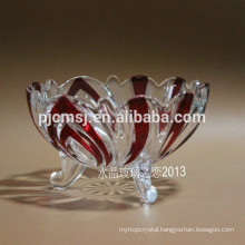 Pure Crystal Dishware, Crystal Tableware, Crystal Plate for Fruit