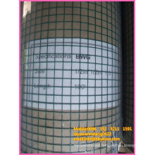 "green vinyl / pvc poultry coated / reinforce 1/4"" welded wire mesh"