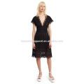 Anglaise Shift Dress Manufacture Wholesale Fashion Women Apparel (TA4085D)