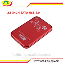 USB 3.0 SATA Hard Disk Case 2.5 External HDD Box Aluminum HDD Enclosure
