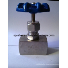 Stainless Steel Threaded Needle Valve