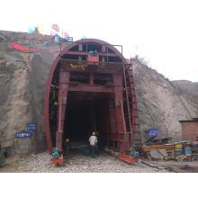 Molde hidráulico completo do trole do forro do túnel