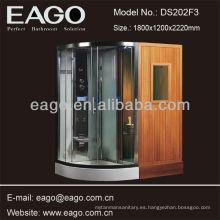 Habitación para sauna tradicional con 1 persona y ducha de vapor (DS202F3)