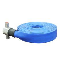 résistance à l'abrasion bleu tuyau d'incendie