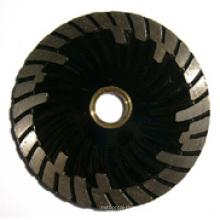 Diamond Tool-Sintered Turbo Rim Blades with Deep Protection Segment